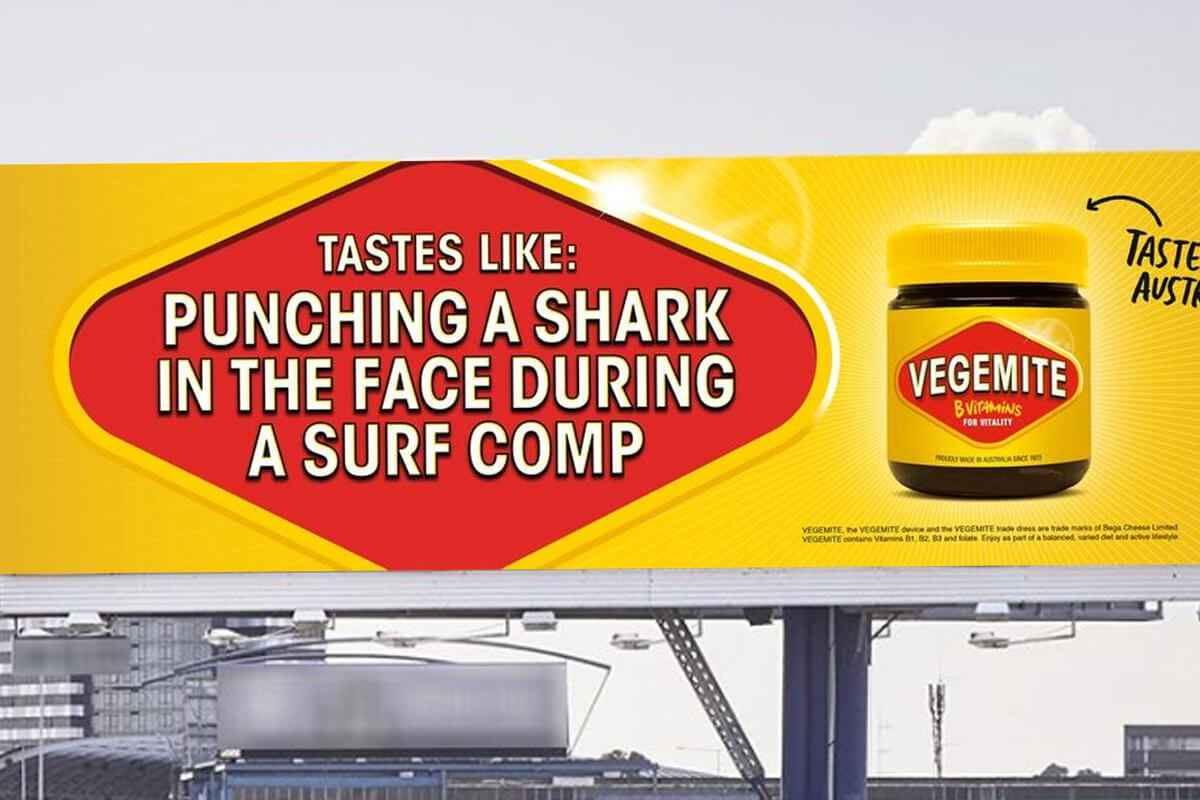 Vegemite Billboard